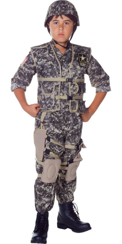 Boys US Army Ranger Costume Deluxe