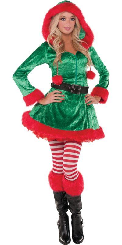 Adult Sassy Elf Costume