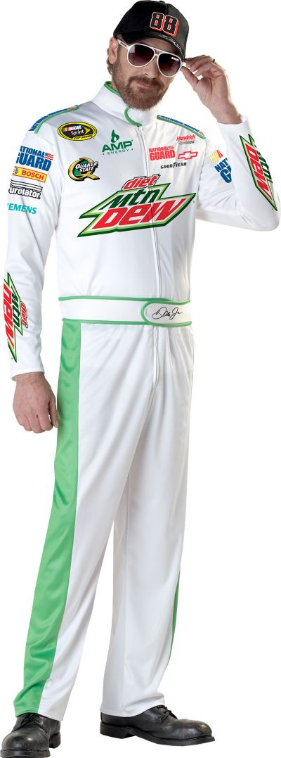 Adult Dale Earnhardt Jr. NASCAR Costume