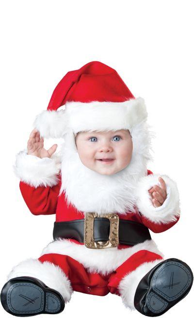 Baby Santa Suit Deluxe