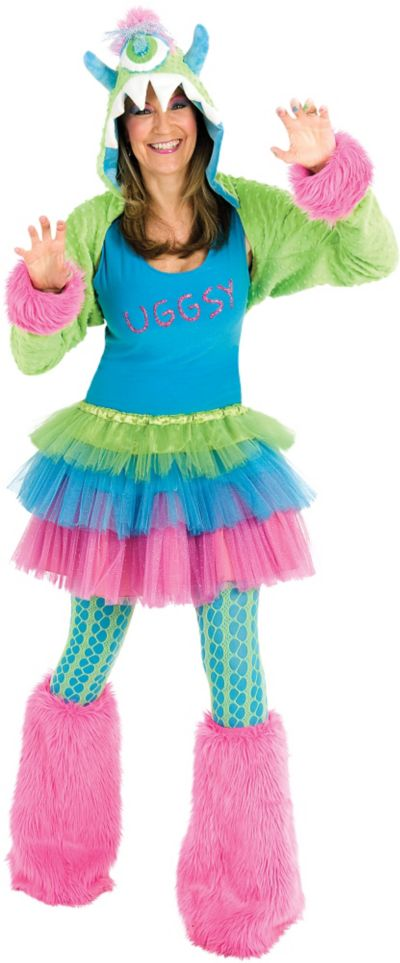 Adult Uggsy Monster Costume