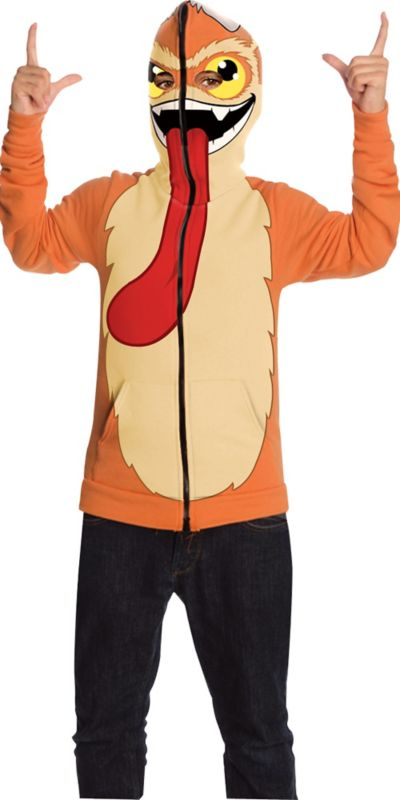 Boys Trigger Happy Hoodie Costume