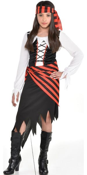 Girls Buccaneer Beauty Pirate Costume