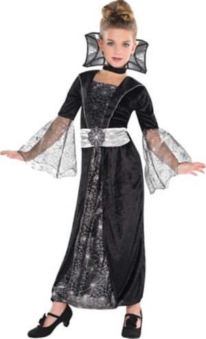 Girls Dark Countess Costume - Party City