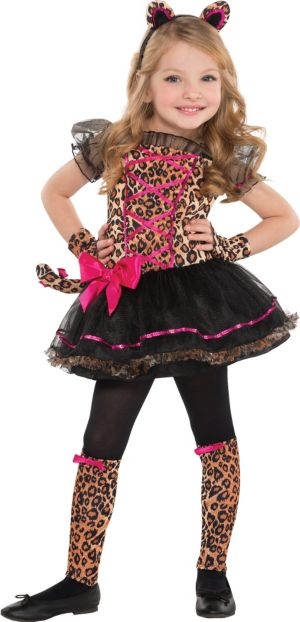Toddler Girls Precious Leopard Costume