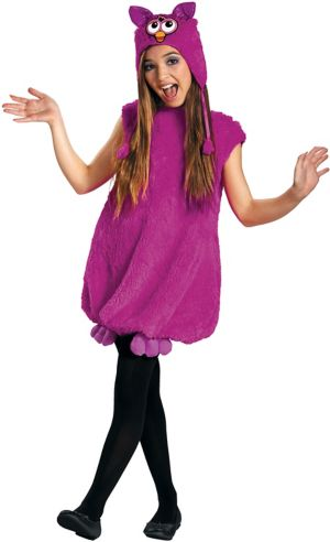 Girls Voodoo Furby Costume Deluxe