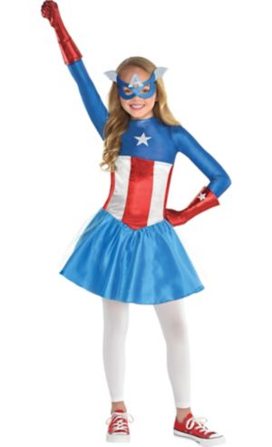 Girls American Dream Costume