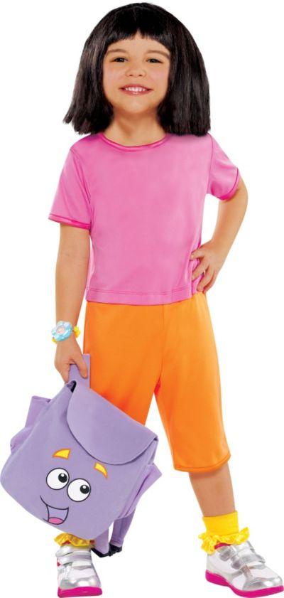 Toddler Girls Dora The Explorer Costume
