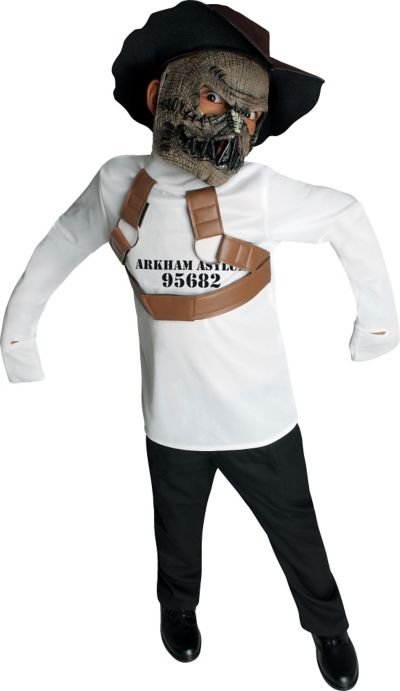 Boys Scarecrow Costume - Batman