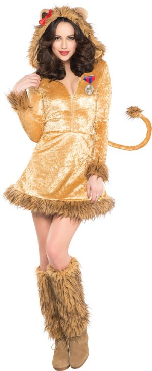 Adult Sexy Lioness Costume