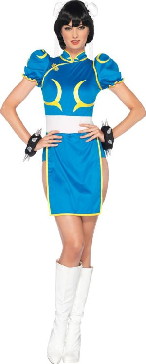 Adult Chun-Li Costume - Street Fighter II