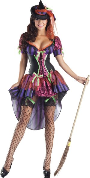 Adult Witch Body Shaper Costume