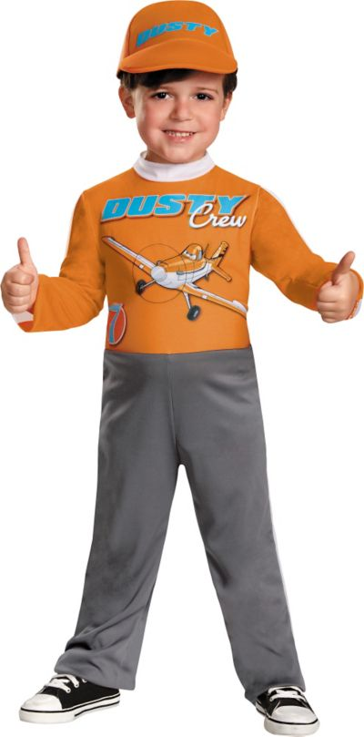 Toddler Boys Dusty Crophopper Costume - Disney Planes