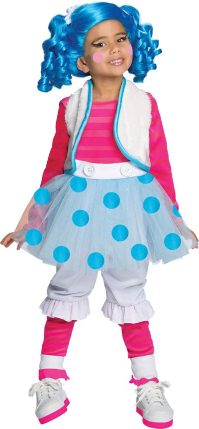 Toddler Girls Mittens Fluff N Stuff Costume Deluxe - Lalaloopsy