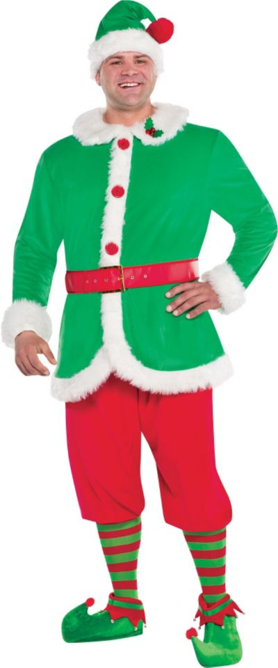 Adult North Pole Elf Costume