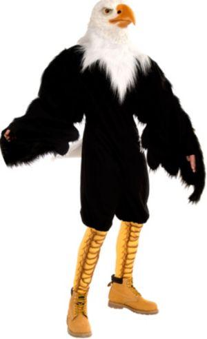 Adult American Eagle Jumpsuit Costume