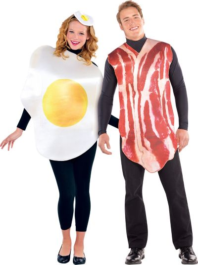 Adult Bacon and Egg Costume