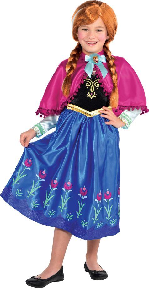 Costume Dream Girl Girls Anna Costume Frozen