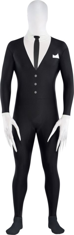 Adult Slender-Man Partysuit