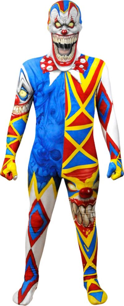 Boys Clown Monster Morphsuit