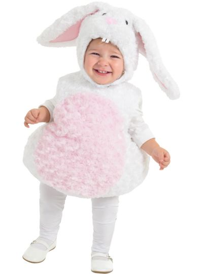 Baby White Rabbit Costume