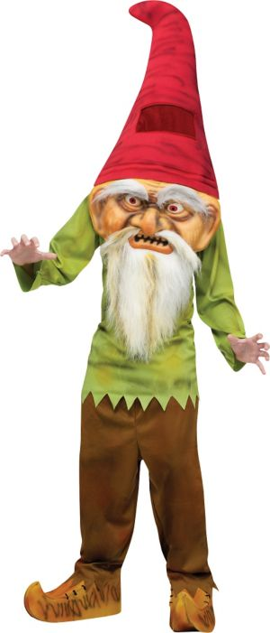Child Big Head Evil Gnome Costume
