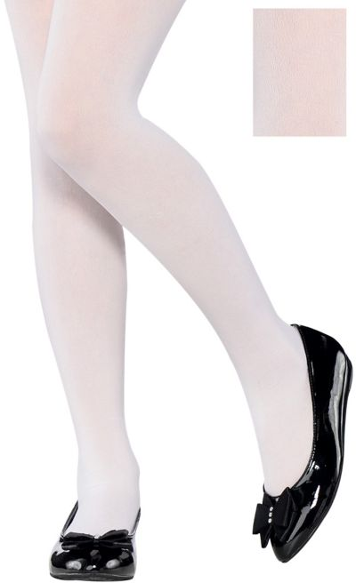 Child White Tights