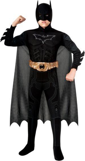 Boys Light-Up Batman Muscle Costume