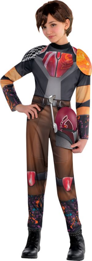 Girls Sabine Costume - Star Wars Rebels