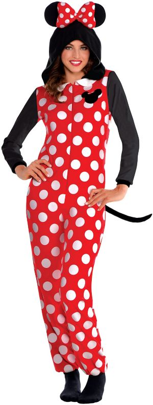Zipster Minnie Mouse One Piece Costume
