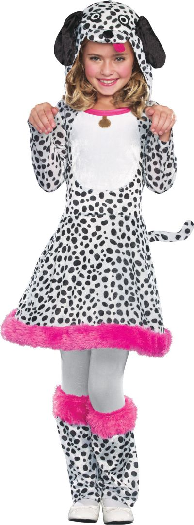 Girls I'm Seeing Spots Dalmatian Costume