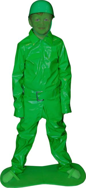 Party Costume City Man - Boys Army
