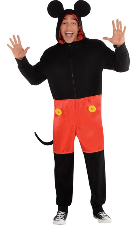 Skeleton One Piece Costume Mickey Mouse One Piece Costume