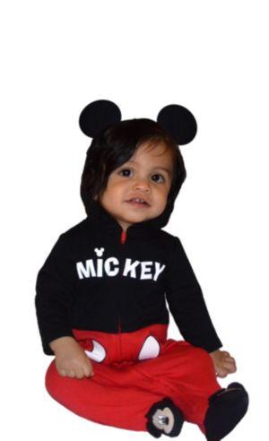 Baby Mickey Mouse One-Piece Pajamas