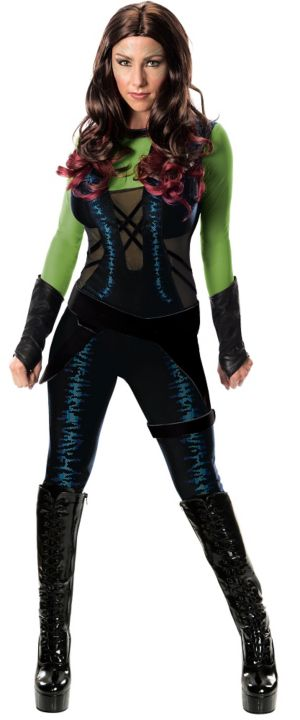 Adult Gamora Costume - Guardians of the Galaxy