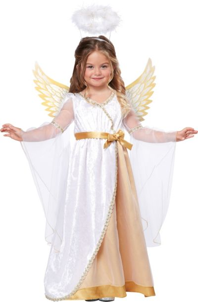 Toddler Girls Sweet Little Angel Costume