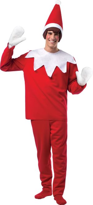 Adult Scout Elf Costume - The Elf on the Shelf