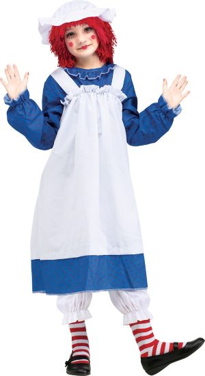 Girls Raggedy Ann Costume