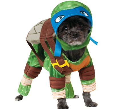Teenage Mutant Ninja Turtles Leonardo Dog Costume