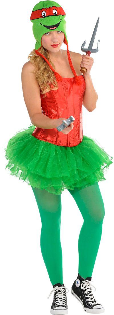 Adult Flirty Teenage Mutant Ninja Turtles Costume