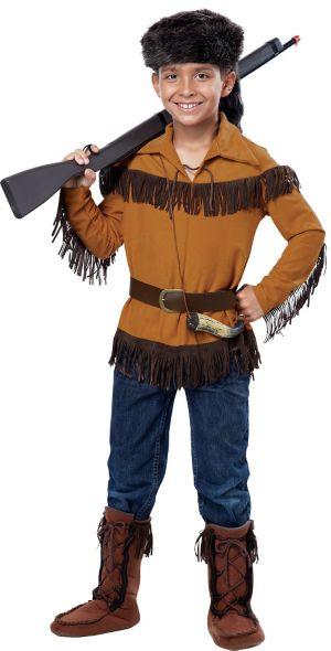 Boys Frontier Costume