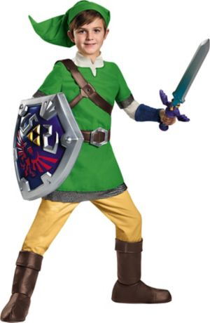 Boys Link Costume Deluxe - The Legend of Zelda