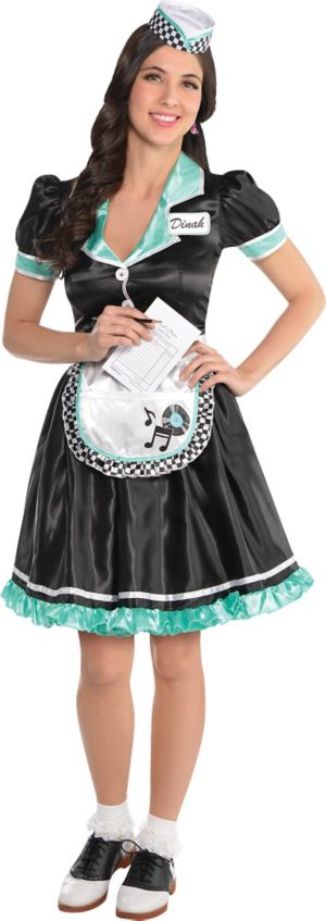 Adult Dinah Delight Waitress Costume Party City