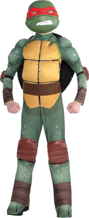 Boys Raphael Muscle Costume - Teenage Mutant Ninja Turtles