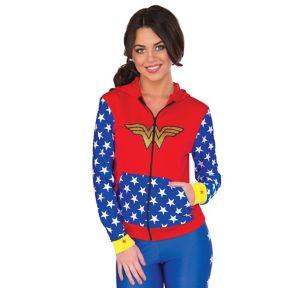 Wonder Woman Zip-Up Hoodie