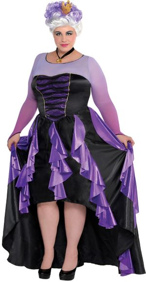 Adult Ursula Costume Couture Plus Size - The Little Mermaid