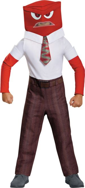 Boys Anger Costume Classic - Inside Out