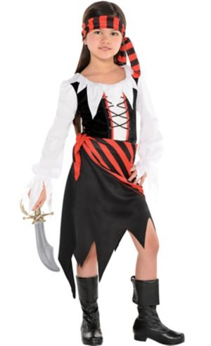 Little Girls Buccaneer Beauty Pirate Costume