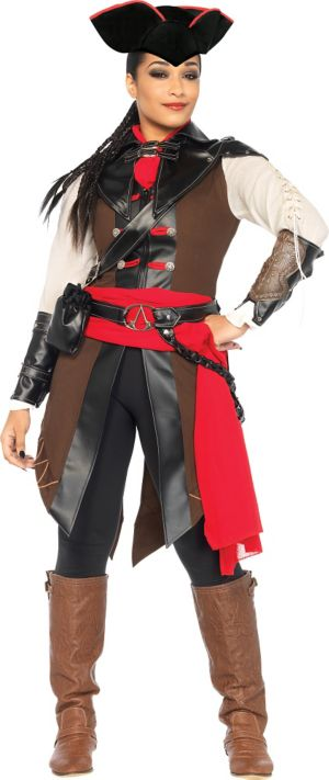 Adult Aveline Pirate Costume - Assassin's Creed III
