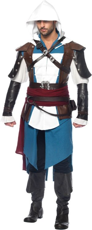 Adult Edward Costume - Assassin's Creed IV